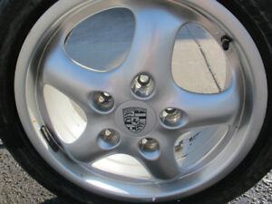 "Porsche 911 993 17"" Factory Rims 7x17 & 9x17 (Used)"