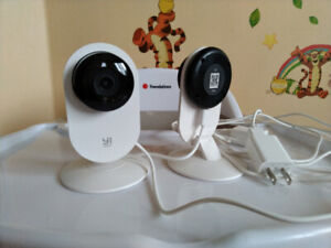 Yi 1080p Home Camera, indoor wireless webcam with night vision