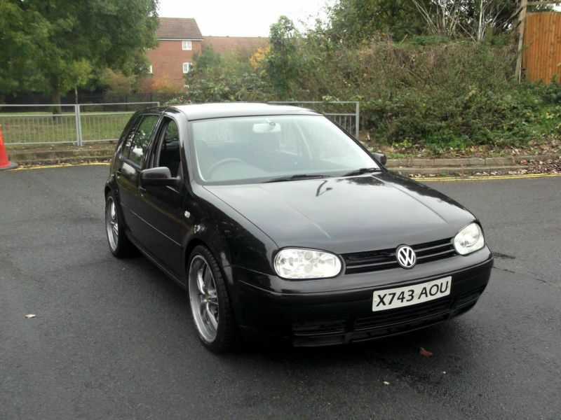 volkswagen golf mk4 2 8 v6 4motion 5 door 6 speed manual black px swap swop in uxbridge. Black Bedroom Furniture Sets. Home Design Ideas