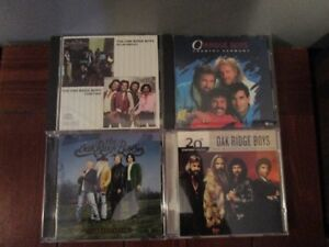 OAK RIDGE BOYS - 4 Compact Disc Collection