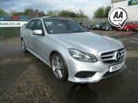 2013 Mercedes-Benz E-CLASS 3.0 E350 BLUETEC AMG SPORT 4d 249 BHP Saloon Diesel A