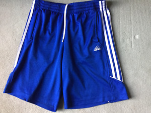 ADIDAS CLIMALITE ATHLETIC SHORTS SIZE M