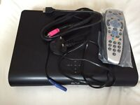 Sky+ HD box with wi-fi and brand new remote