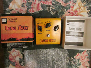 Seymour Duncan SFX-05 Lava Box Distortion Pedal Strathcona County Edmonton Area image 1