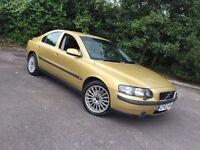 2002 Volvo S60 SE 2.0 Turbo • Full Volvo Service History • 80000 Miles