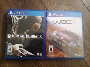 Mortal Kombat X & WRC5