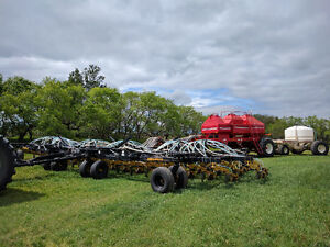 50ft Seed Master air seeder double shoot and 4 product VR