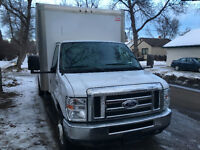 2014 Ford E-Series Van 16' Unicell Cube Van