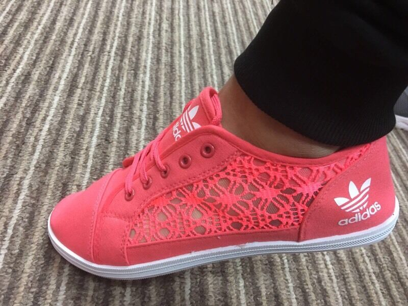 2ab49ac79ed64b adidas womens lace shoes