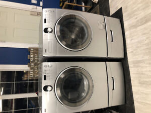 Kenmore (Samsung) matching stainless washer / dryer