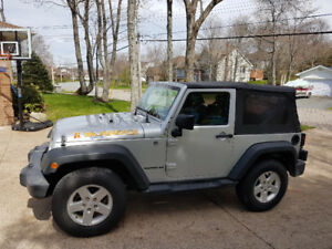 2010 Jeep Wrangler special edition Islander with low kms