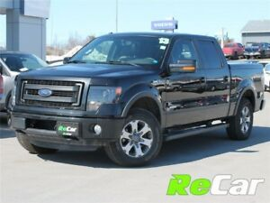 2013 Ford F-150 FX4 | CREW | 4X4 | HEATED/COOLED LEATHER | NAV