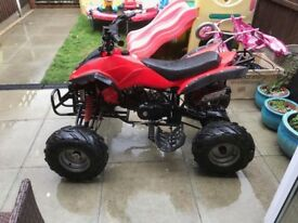 Interceptor 125 cc quad bike
