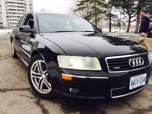 Audi A8 Perfect condition Safety & E-test