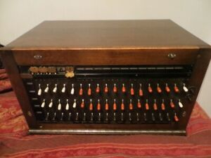 Antique 1920's switchboard