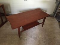 G plan wave coffee table....SOLD