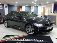 2014 BMW 4 Series 2.0 420d M Sport xDrive 2dr Diesel black Automatic