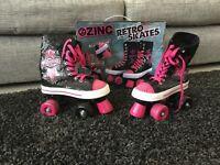 Ozinc roller boots girls size 3