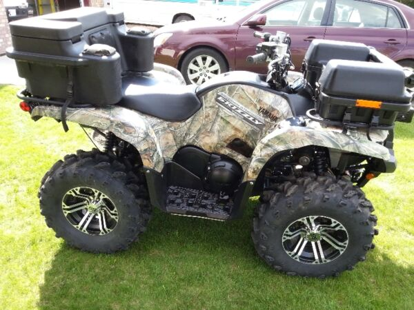 Used 2013 Yamaha Grizzly 700 EPS FI Camo