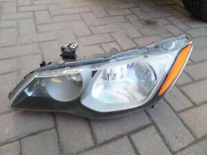 Acura CSX HID Headlight LH