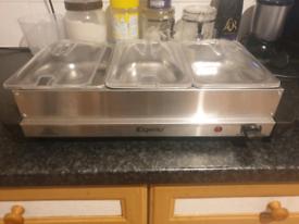 Buffet food server/warmer