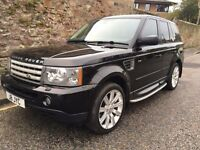 2006 LAND ROVER RANGE ROVER SPORT 2.7 TDV6 HSE AUTOMATIC FULLY LOADED 4X4 WITH FLRSH