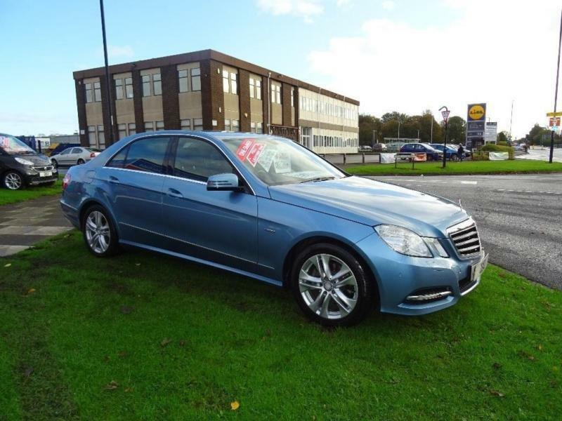 2012 Mercedes-Benz E Class 2.1 E220 CDI BlueEFFICIENCY SE (Executive)