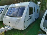 2010 Swift Coastline 550 Se Fixed Bed 4 Berth End W/room Caravan, Motor Mover