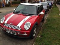 Mini Cooper 1.6 swap for motorbike