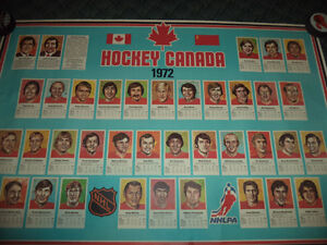 1972 Summit Series Canada poster Belleville Belleville Area image 4