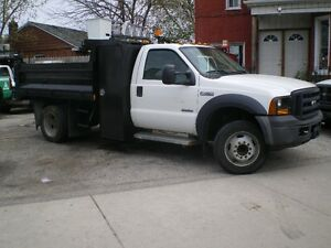 2006 FORD F450 9FT  DUMP,BOX( 82,000KMS)