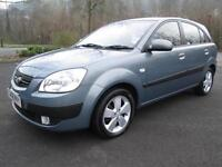 08/08 KIA RIO 1.4 LS 5DR HATCH IN GREY WITH ONLY 76,000 MILES