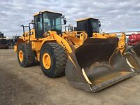 5yd wheel loader with Lube system