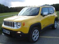 Jeep Renegade 2.0 MJET 4WD LIMITED 140PS
