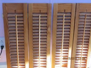 Window shutters (wood) - interior