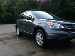 2010 HONDA CRV AWD..ONE OWNER..UNDERCOATED FROM NEW