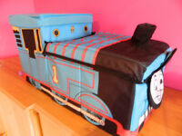 Thomas toy box, book with poster track & figures and story books