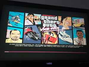 Original XBOX with Grand Theft Auto: Vice City and 1 Controller Kingston Kingston Area image 3
