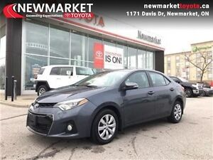 2015 Toyota Corolla Sport  SPORT - ONE OWNER - ACCIDENT FREE - B