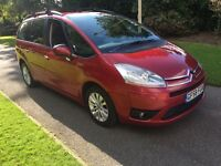 2008 58 PLATE CITROEN C4 GRAND PICASSO 1.6 VTR+ 7 SEATER MANUAL