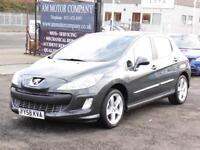 Peugeot 308 1.6 VTi, Sport, Grey, 2008, 70 000 Miles, 6 Months AA Warranty