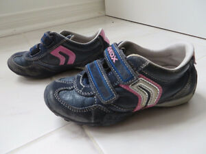 Toddler girl shoes, $3-$5, from size 11, Geox.