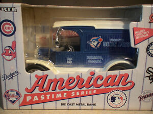Blue Jays diecast bank 2nd series by Liberty