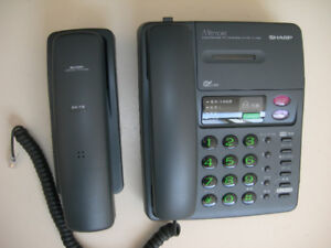 SHARP cordless phone with answering system