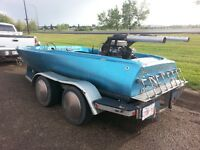 RARE vintage 1974 speed boat vdrive very fast