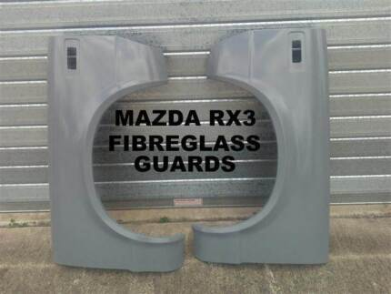 MAZDA RX3 FULL FIBREGLASS GUARDS PAIR MORE SETS AVAILABLE