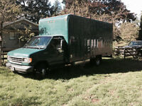 1993 Ford E-350 Cube Van Box Truck