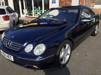 2000 MERCEDES CL 500 AUTO COUPE From GBP6950+Retail package.