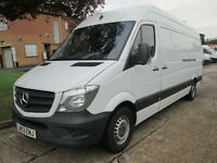 2013 63-REG Mercedes-Benz Sprinter 313CDI LWB NEW SHAPE. ONLY 56,000 MILES.