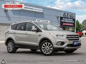 2017 Ford Escape All-Wheel Drive, Leather, Back-Up Camera, Bluet